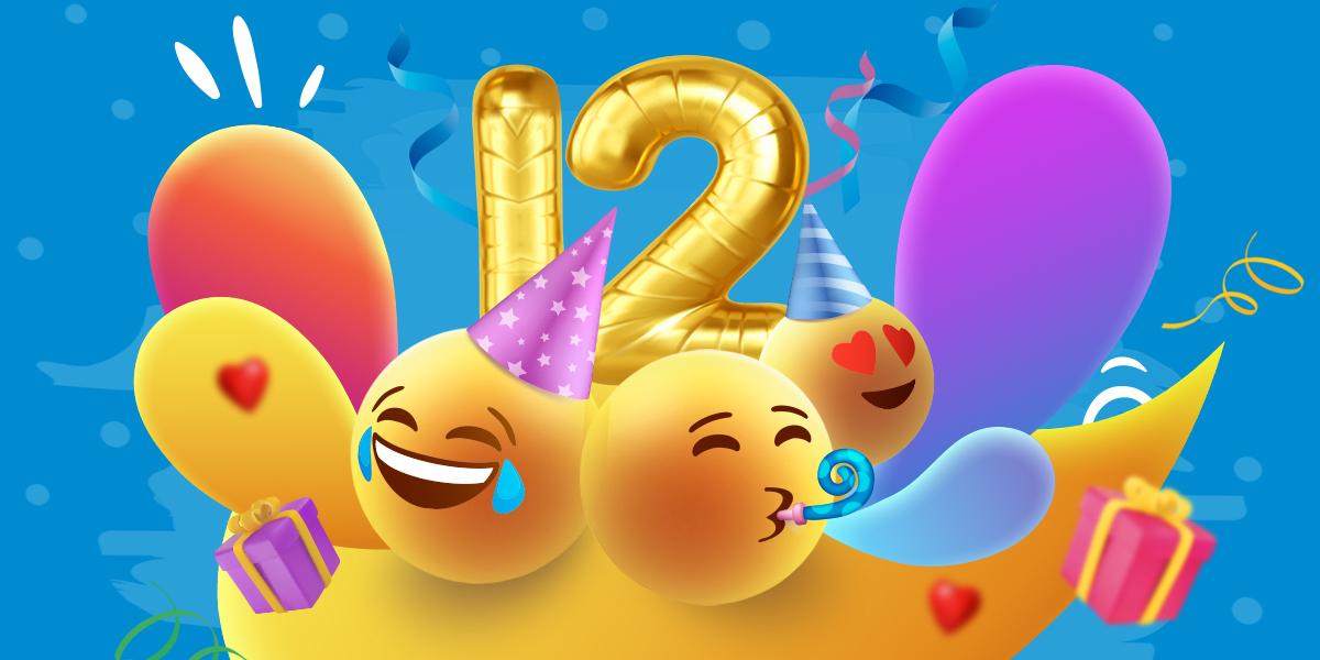 Детский праздник – Нам 12 лет!
